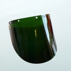 Fibre Metal Face Shield, Green